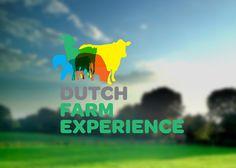 Dutch Farm Experince on Behance #brand logo