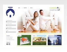 Conexión Inmobiliaria LT -Branding #diseo #page #branding #pgina #de #corporate #identity #template #logo #web