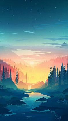 iPhone X Wallpaper Nature
