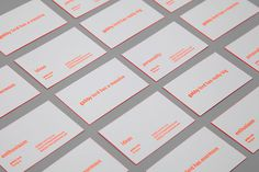 gabbylord_buscards_03 #cool #business #card #print #orange #concept #neon