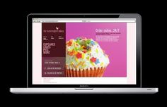 The Hummingbird Bakery – website & eCommerce design on Web Design Served #website #bakery