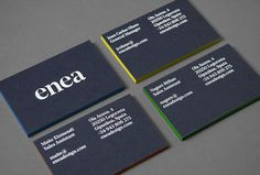 Enea by Clase bcn #graphic design #print #business card