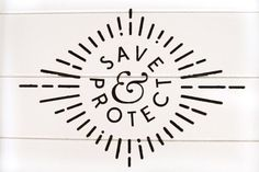 save and protect #seal #logo #identity