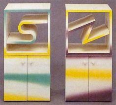 "Arata Isozaki ""Fuji"" cabinets, 1981 #80s"