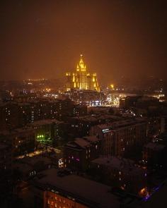 Striking Urban Landscapes in Moscow by Ilya Vorobyev