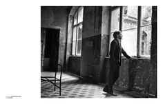 Daniel Brühl photographed by Bryan Adams at Beelitz-Heilstätten #bruehl #actor #magazin #adams #zoo #photography #daniel #bryan