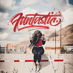 Fantastic by David Milan #lettering