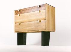 Dresser Dusty Drawers Fly Massive Millworks #fly-massive-millworks #wood #furniture #interior #design #modernism #artisan #woodworking #oak