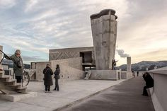#concrete in #architecture Unité d'Habitation de Marseille #photo by Manuel Cassetti