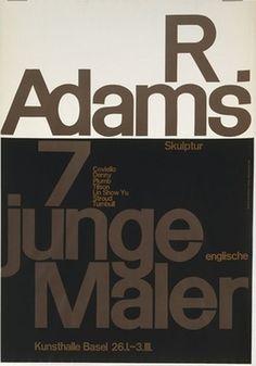 MoMA | The Collection | Armin Hofmann. R. Adams, Skulptur, 7 Junge Englische Maler. c. 1950-63