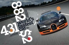 Gas Creative Print #fastest #veyron #car #431kmh #worldss