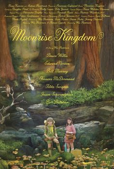 Moonrise Kingdom | Jessica Hische #moonrise #hische #kingdom #typhography #jessica #poster #layout