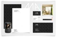 MacarenaMuras on the Behance Network #white #black #architecture #identity #and