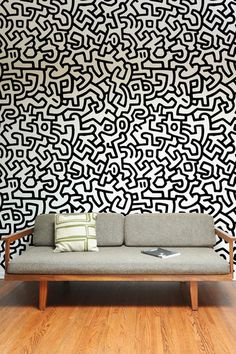 Keith Haring ~ Pattern Wall Tiles #wallpaper #pattern #keith #haring