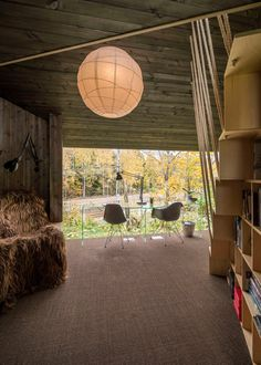Writer's Cottage in suburban residential area of the Oslo city