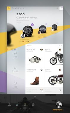 DOF Gallery by Cosmin Capitanu #inspiration #design #web #flat