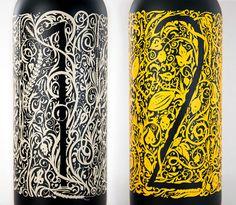 Luminary Quarter Beer Packaging #beer #packaging #illustration