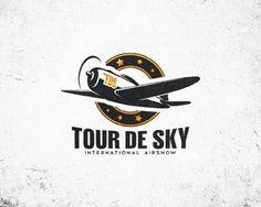 Tour De Sky #branding #sky #planes #logo #tour