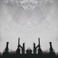 B3PO   Portal #b3po #blackwhite #instagram #photography #industrial #landscapes