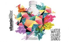 Vitamin Waters on the Behance Network #music #vitamin #waters #poster