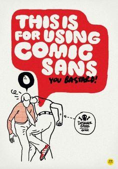 CUSTOM LETTERS 2009 — LetterCult #comic #sans