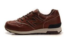 Mens new balance M1400LBR leather Brown cream coloured Shoes