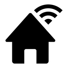 See more icon inspiration related to wifi, internet, home, house, real estate, page, buildings and interface on Flaticon.