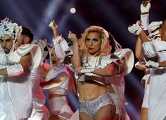 Image result for gaga super bowl dancer outfits