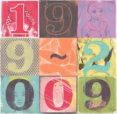 Graphic-ExchanGE - a selection of graphic projects #archer #illustration #numbers #colour #andrew