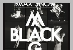 OK200 / Graphic Design Studio / Amsterdam / Max Snow / Black Magic #ok200 #magic #black