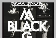 OK200 / Graphic Design Studio / Amsterdam / Max Snow / Black Magic #ok200 #magic #black