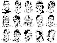 Street Beers #portraits #illustrated