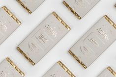 chocolate, bar, package, gold, foil, printing, simplicity, repetition