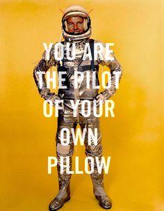 http://28.media.tumblr.com/tumblr_lrpkboFprI1qz6f9yo1_500.jpg #astronaut #cosmo #typography