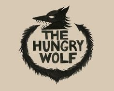 The Hungry Wolf by DeanWilliamLiebau #logo #wolf