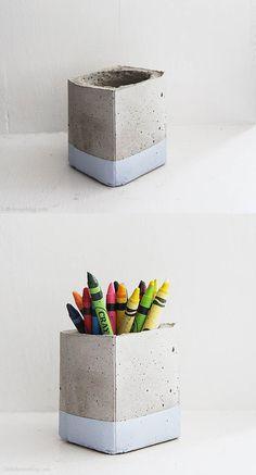 #object #DIY #concrete