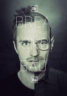 breaking bad #bad #breaking #poster #typography