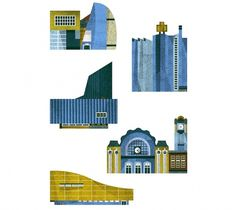 Lotta Nieminen #illustration #design #buildings