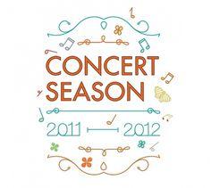 Community Concerts on the Behance Network #celebration #illustration #design #concert
