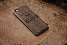 CARVD Wooden iPhone Skin
