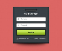 Login box with username and password Free Psd. See more inspiration related to Box, Web, User, Psd, Page, Login, Screen, Name, Material, Password, Web page, Horizontal, Login screen, Login box, Username and User name on Freepik.