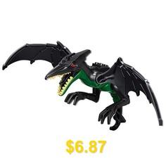 Cool #Dragon #Cartoon #Assembly #Model #Toy #- #BLACK