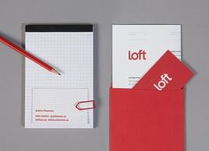 Loft Investments : Lovely Stationery . Curating the very best of stationery design #logo #brand #identity