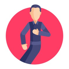 See more icon inspiration related to art and design, dance, dancer, dancing, swing, steps, people and music on Flaticon.
