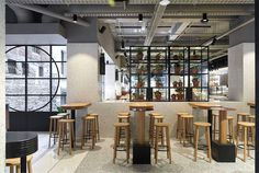 Techne Architecture + Interior Design Creates Landmark Flinders Lane Emporium for Brunetti - InteriorZine