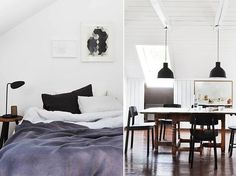 Bright Norwegian Family Loft - emmas designblogg #interior #design #decor #deco #decoration
