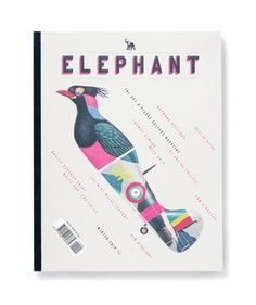 Elephant Magazine: Issue 5 « Studio8 Design #elephant #bird #plane #studio8 #magazine