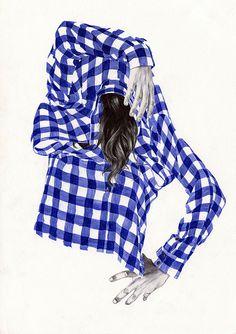 Chamo san, Barcelona #illustration #spain #girls #shirt