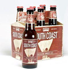 Parish Brewing South Coast #packaging #beer #label #bottle