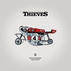Print009A.jpg (JPEG Image, 900x900 pixels) #silence television #thieves #cafe racer #jetpilots